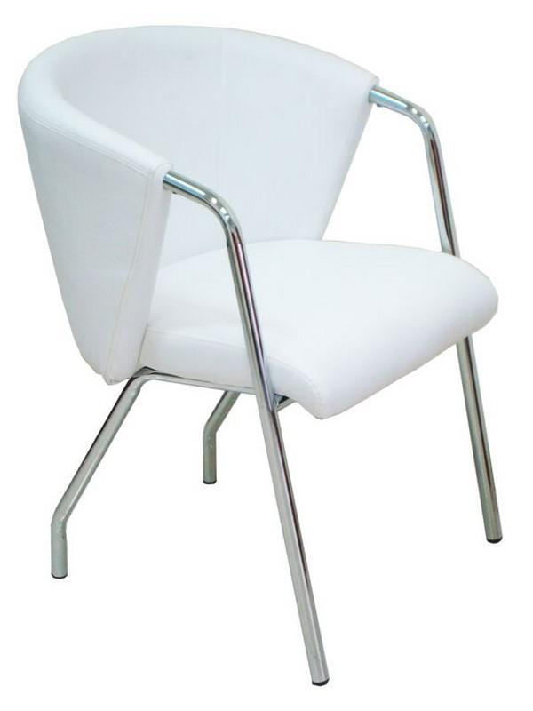 כסא דגם טופז לבן