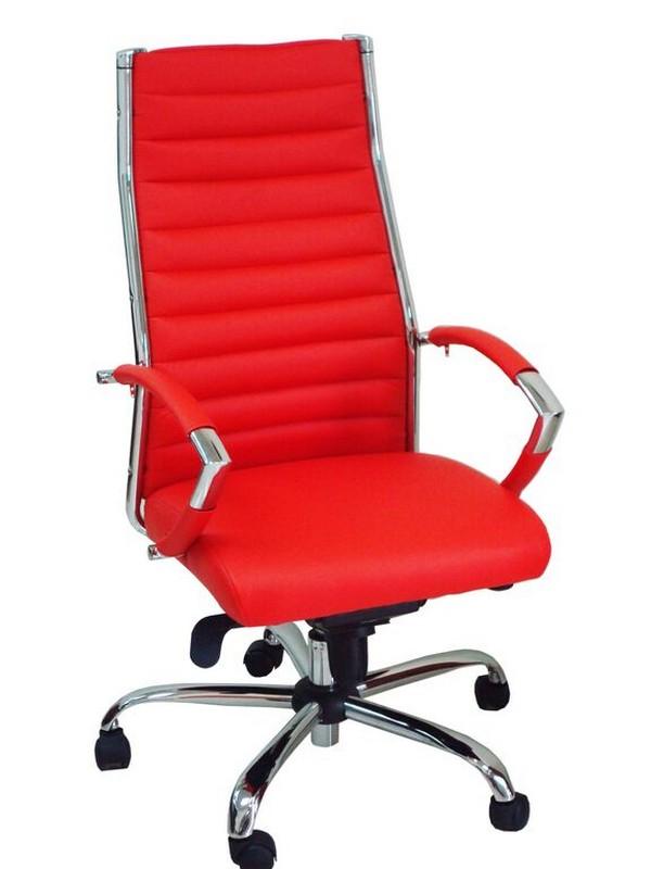כסא דגם שי גב גבוה אדום