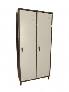 ארון הלבשה 2 דלתות + מקל תלייה  1