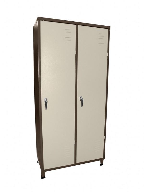 ארון הלבשה 2 דלתות + מקל תלייה
