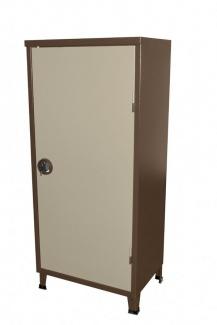 ארון מתכת נמוך דלת 1 שני גוונים