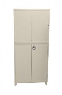 ארון מתכת 2 דלתות + מוט ביטחון 3
