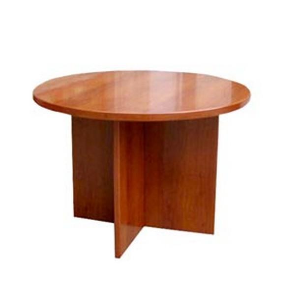 שולחן ישיבות עגול מלמין
