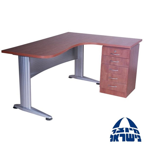 שולחן ארגונומי רגל מתכת