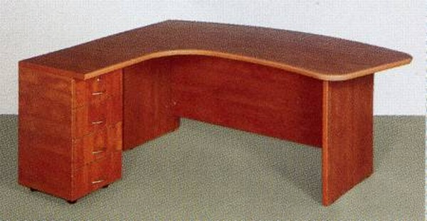 שולחן ארגונומי רגל עץ