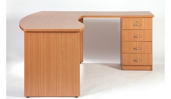 שולחן דגם גל + ארגז קבוע