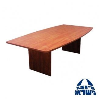 שולחן ישיבות אובלי מלמין