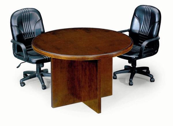 שולחן ישיבות עץ עגול