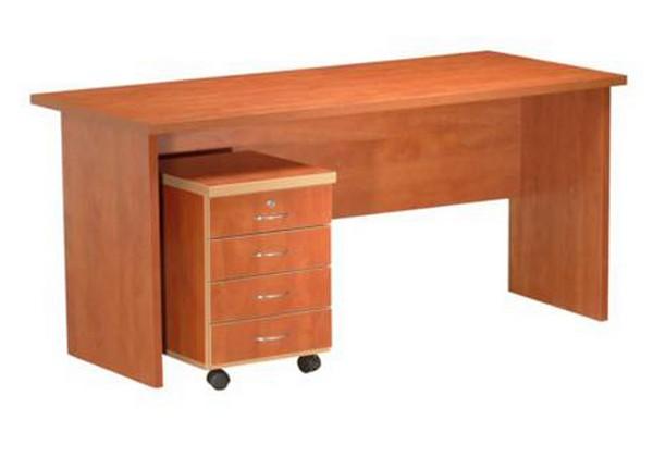 שולחן דגם מטריקס כולל ארגז מגירות נייד