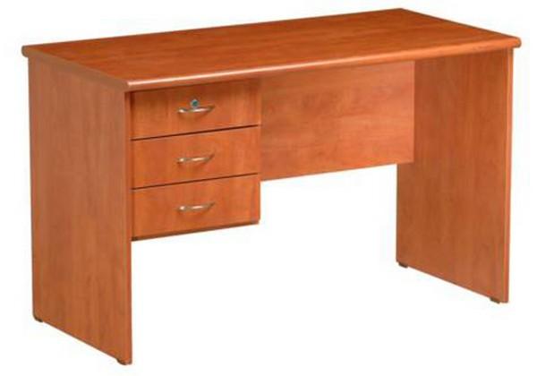 שולחן דגם מטריקס + ארגז 3 מגירות צמוד