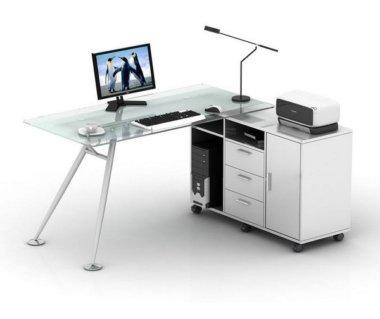 שולחן מחשב דגם מיטל 140-70  מקט 977 160-70 מקט 839