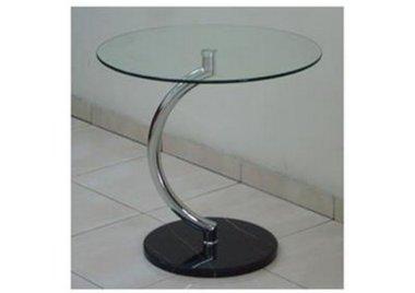שולחן המתנה בעל רגל מעוצבת