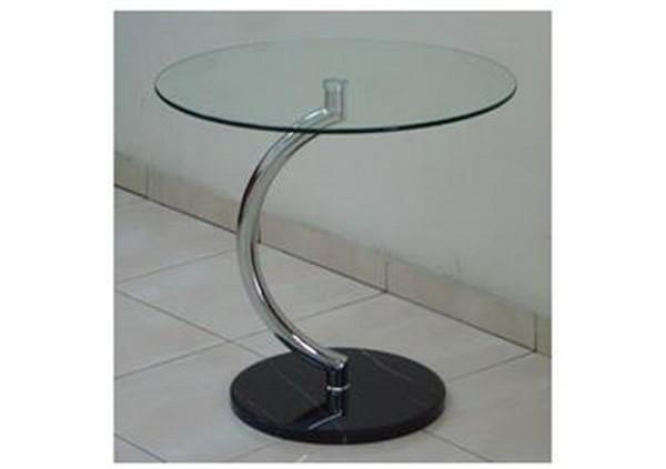 שולחן המתנה רגל מעוצבת