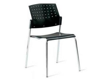 כסא אורח שחור