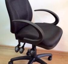 כסא מנהלים שחור דגם גל