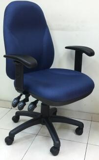 כסא משרדי כחול מדגם גל
