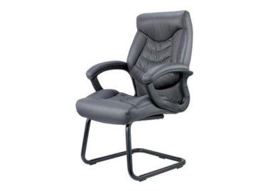 כסא אורח מדגם דני בצבע שחור