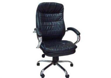 כסא מנהלים מדגם מגה ניקל שחור