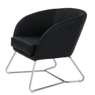 כיסא למשרד מדגם ליאת שחור