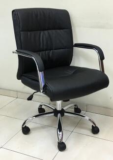 כסא מנהל גב בינוני מדגם מיטל