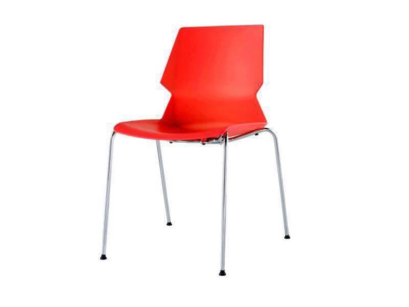 כסא דגם מילאנו אדום