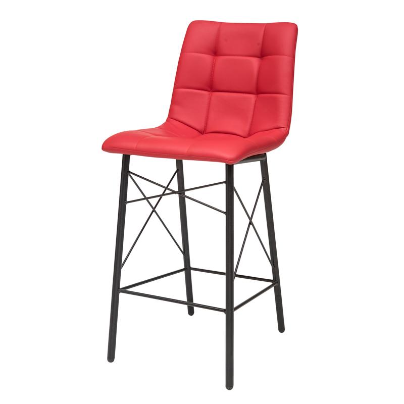 """כסא בר דגם """"דניאל"""" רגל איקס"""