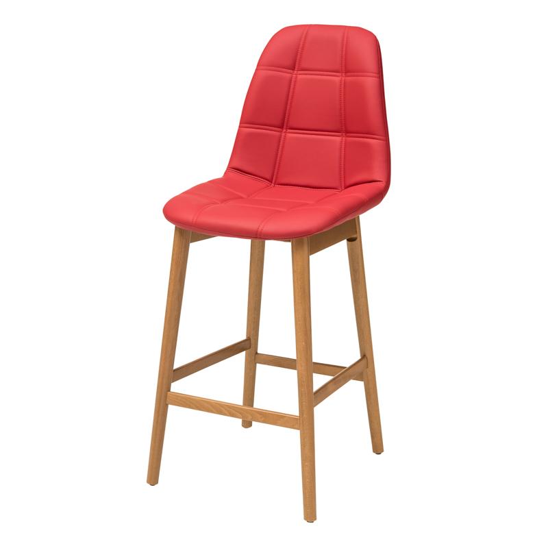 """כסא בר דגם """"נועם"""" רגל קונוס G"""