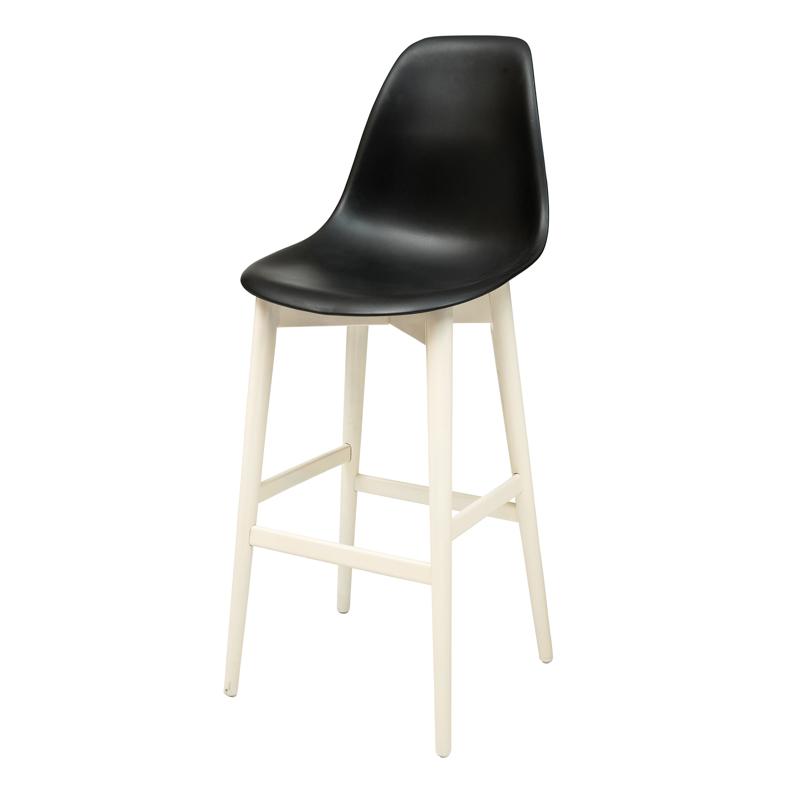 """כסא בר דגם """"ניב"""" רגל קונוס"""