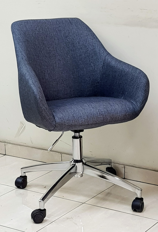 כסא דגם אריאל בד אפור