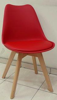 כסא שקד אדום