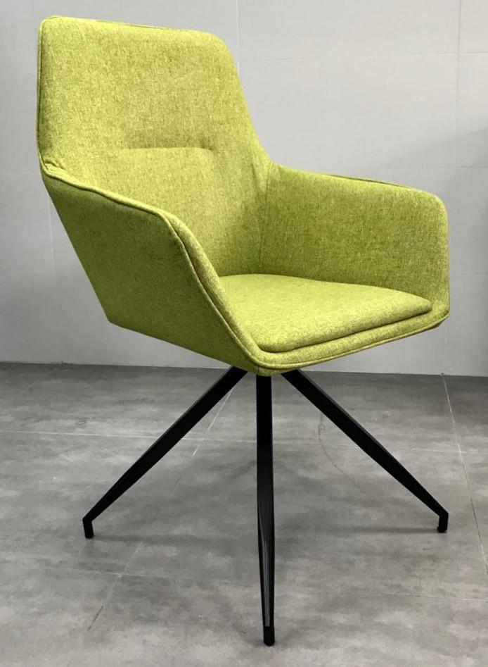 """כסא אורח דגם """"נאפולי"""" ירוק"""