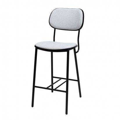 """כסא בר דגם """"ריץ"""" מרופד G"""