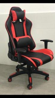 כסא גיימרים אדום שחור