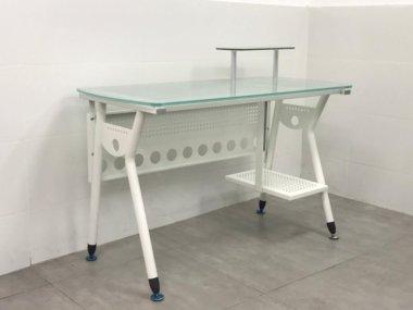 שולחן מחשב זכוכית דגם מירית