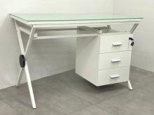 שולחן מחשב זכוכית דגם ריי