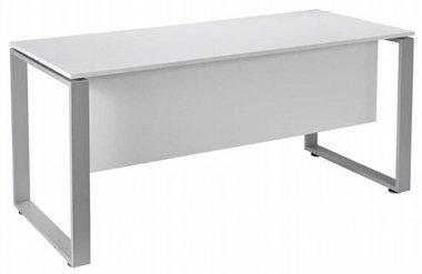 שולחן מחשב פלזמה בצבע לבן