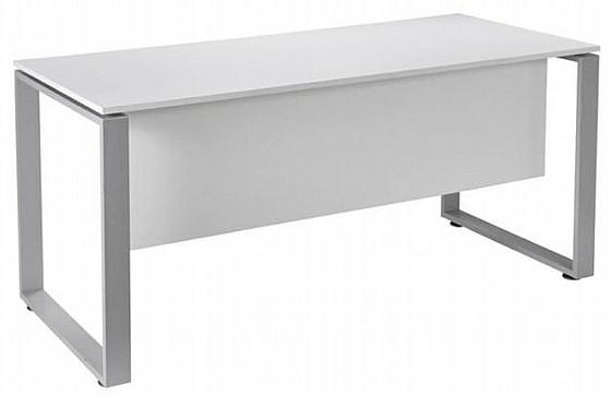 """שולחן """"פלזמה"""" במידה 120X70 רגלי חלון צבע לבן במבצע!!!"""