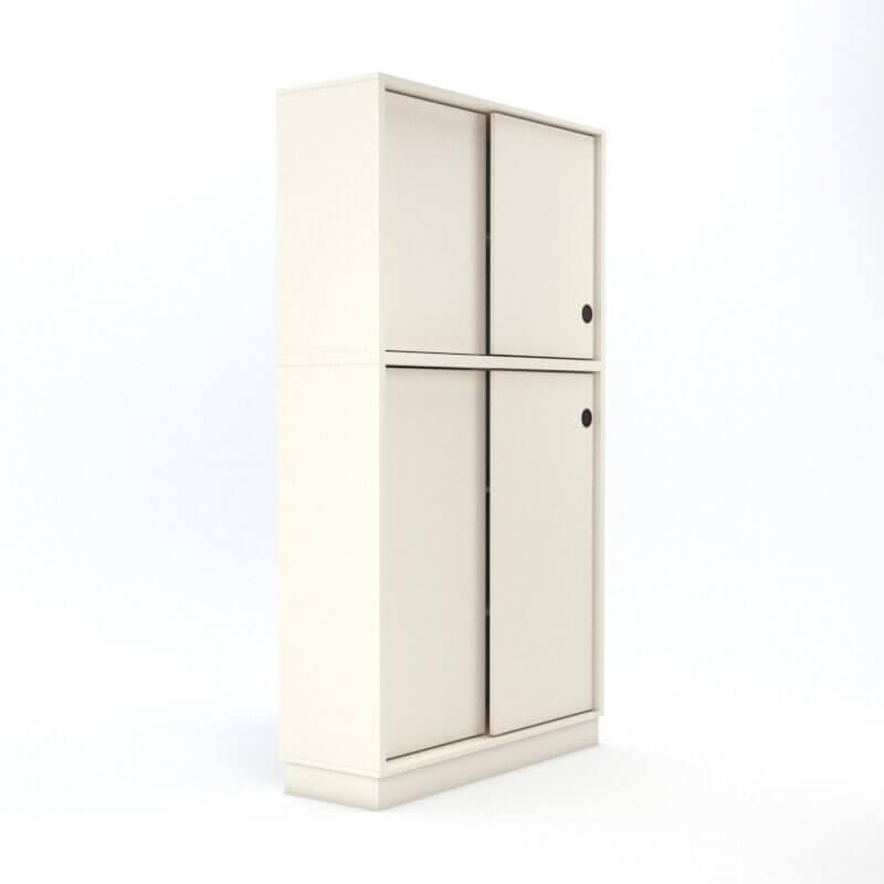 ארון דלתות הזזה 120X40X210H