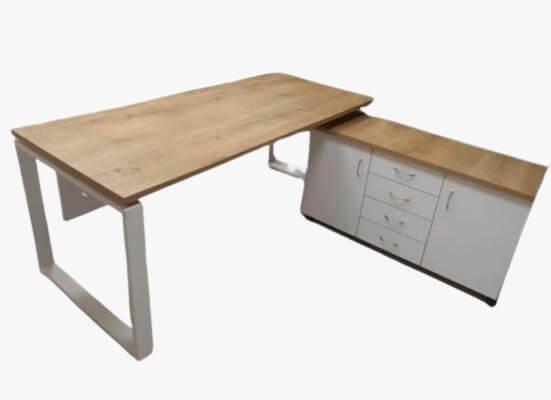 """שולחן מנהל דגם """"אביב"""" במידה של עד 180X80"""