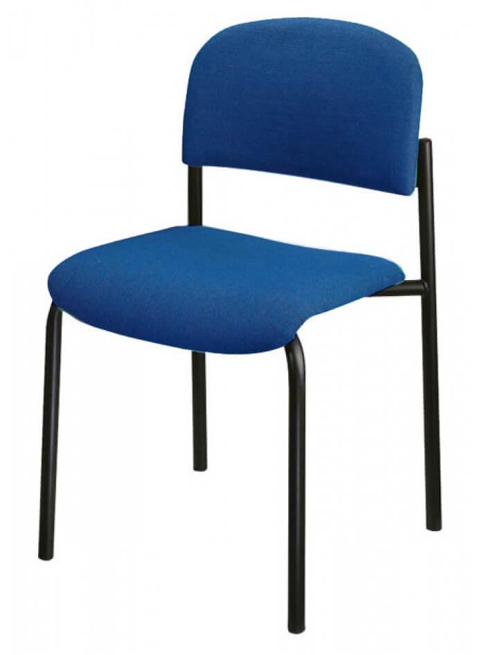 כסא דגם רקפת בד כחול