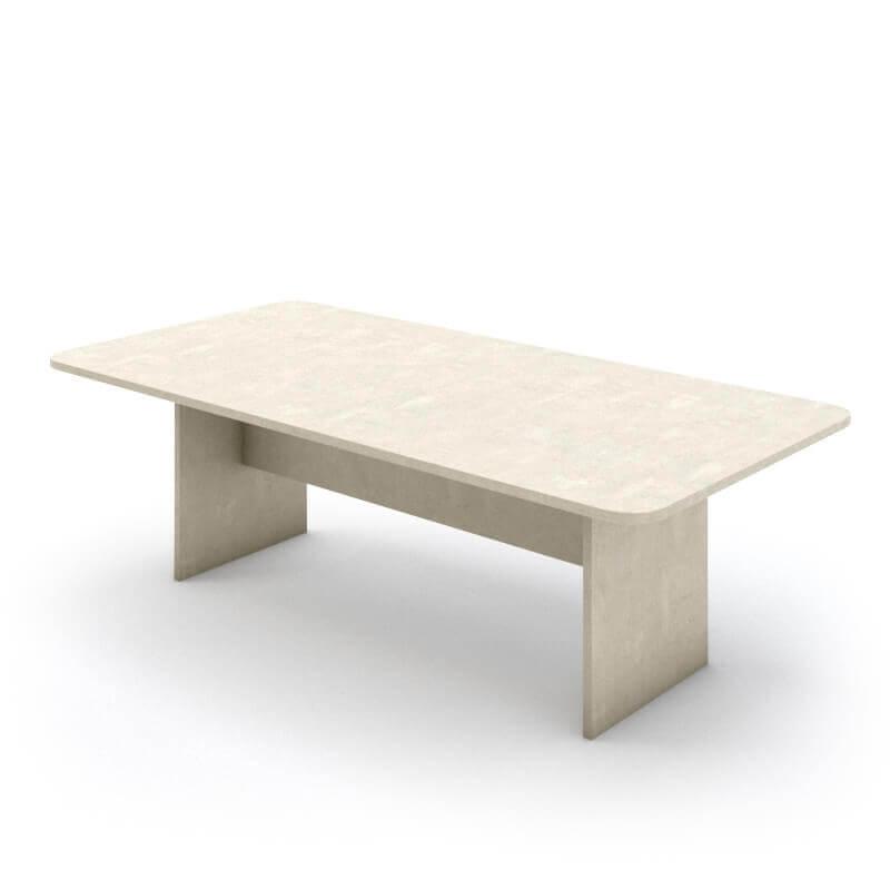 """שולחן ישיבות דגם """"מטריקס"""" מעוגלות 240X120"""